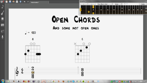 Open Chords