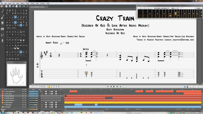 Ozzy & Randy – Crazy Train