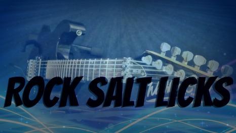 Rock Salt Licks A couple of licks, daily(ish)