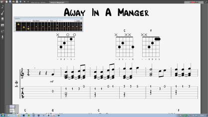 Away in a Manger Screenshot